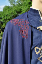 Motif de broderie, dragon celtique